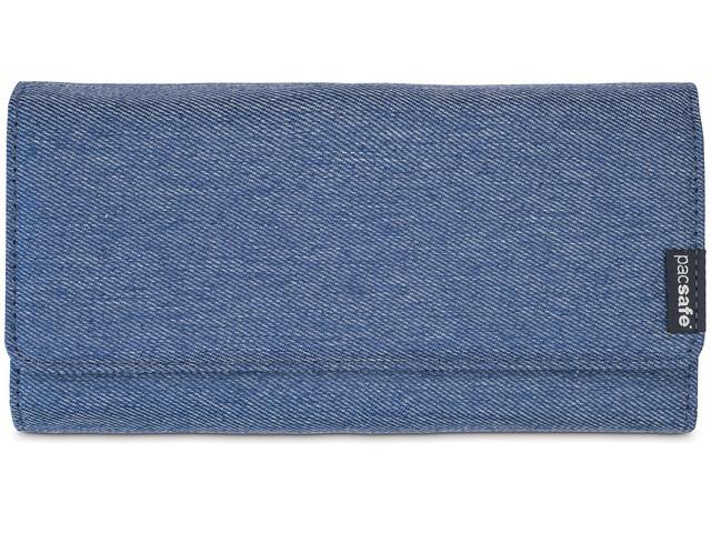 Pacsafe RFIDsafe LX200 - Cartera de viaje - azul